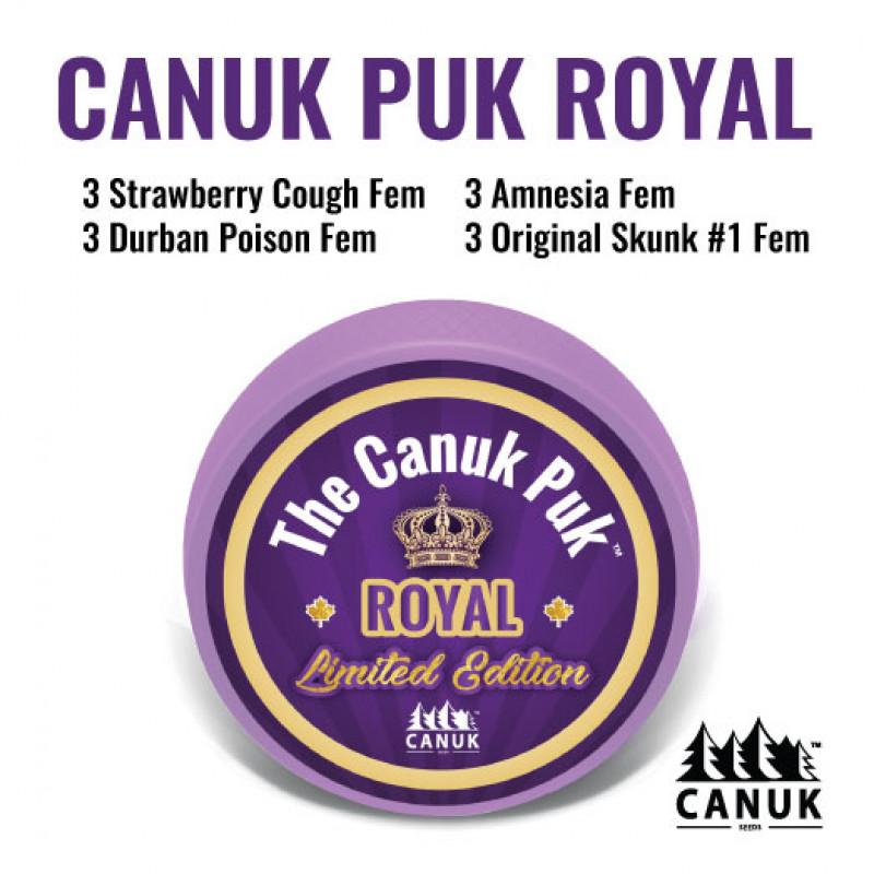 The Limited Edition Canuk Puk Royal