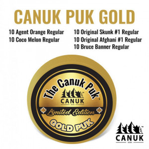 The Limited Edition Canuk Puk Gold