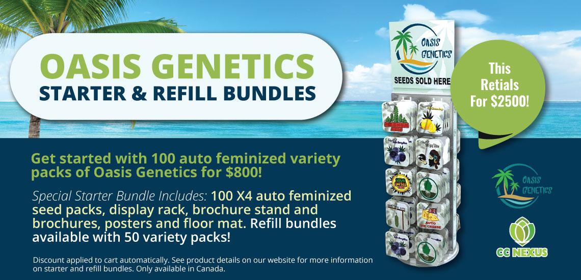 Oasis Genetics Bundles